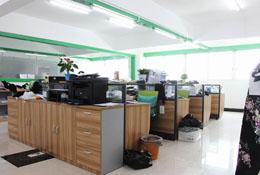 韦欣制衣业务部办公区域