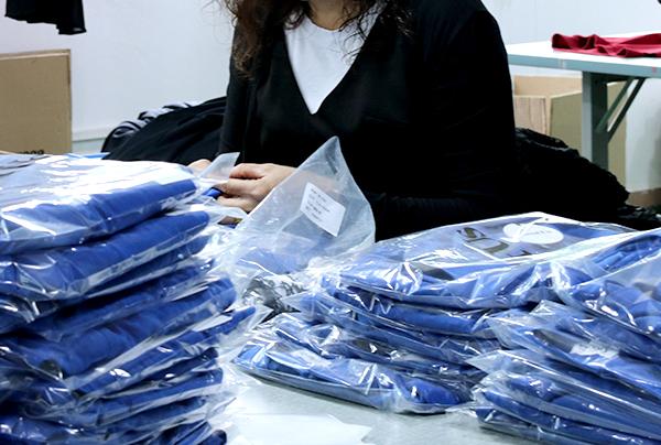 韦欣制衣产品包装