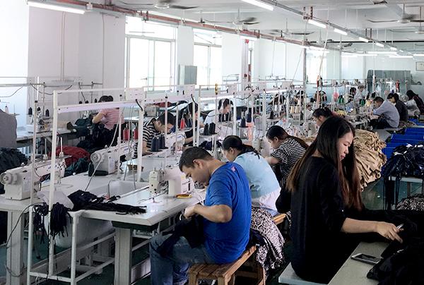 韦欣制衣工厂展示