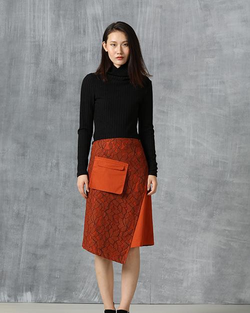 新款毛衣女冬中长款高领长袖弹性修身显瘦打底针织衫