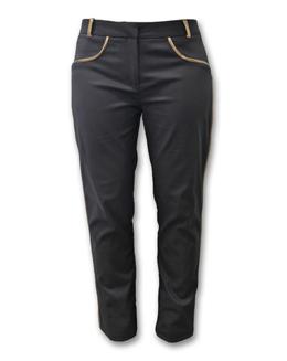 欧美宫廷风纯色长裤2392