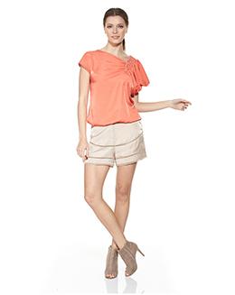 时尚镂空休闲短裤2427