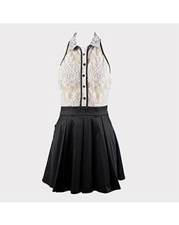 时尚蕾丝气质连衣裙