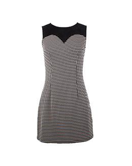 时尚百搭气质格子连衣裙2200
