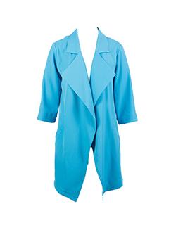 宽松时尚长款外套 2306