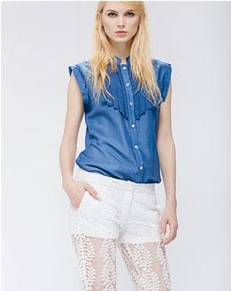 蕾丝镂空透视性感薄款显瘦裤