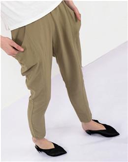女士休闲修身显瘦小脚裤
