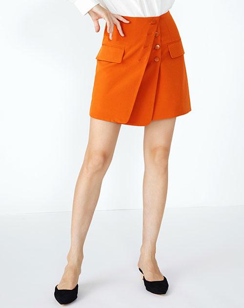欧美秋季新款高腰包臀半身裙