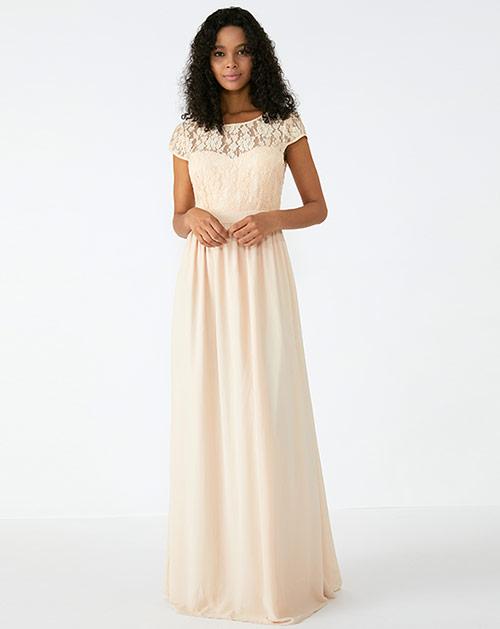 外贸服装厂2019春夏新款纯色短袖蕾丝连衣裙